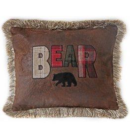 Carstens Bear Pillow (Cedar Hills)