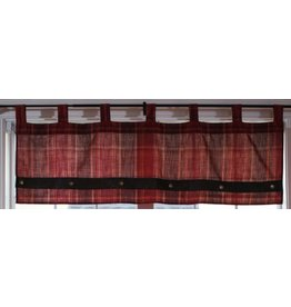 Carstens Sagamore Lake Plaid Valance