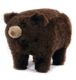 Carstens Aspen Brown Bear Foot Stool