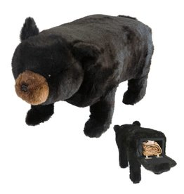 Carstens Big Ben Black Bear with Storage
