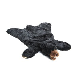 Carstens Black Bear Plush Rug - Small