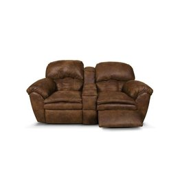 ENGLAND FURNITURE Oakland Double Reclining Loveseat Console
