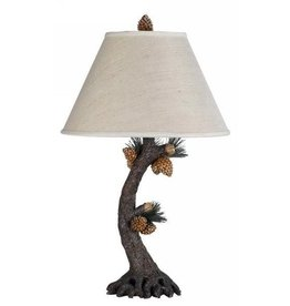 CAL LIGHTING Pinecone Table Lamp
