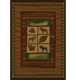 UNITED WEAVERS Highland Falls Lodge Rug - Accent