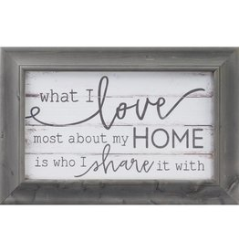 P GRAHAM DUNN What I Love Most About My Home - Farmhouse Frame