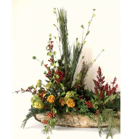 IN HOUSE Large Canoe Floral Arrangement