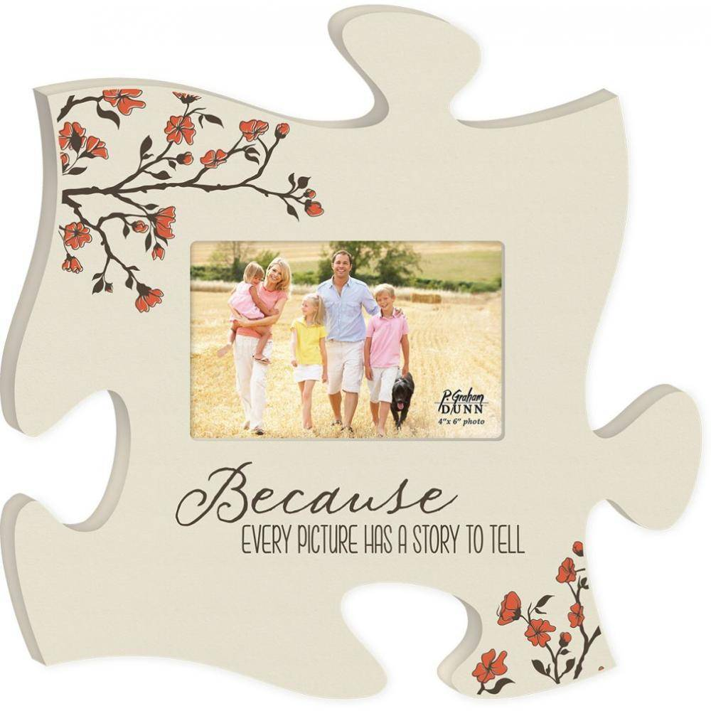 P GRAHAM DUNN Every Picture Frame - Puzzle Piece - HOME WAREHOUSE ...