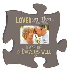 P GRAHAM DUNN Always Will Picture Frame - Puzzle Piece