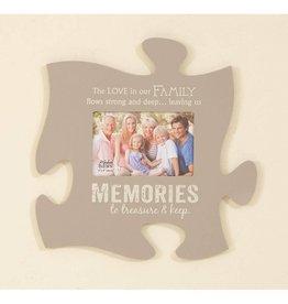 P GRAHAM DUNN Memories Picture Frame - Puzzle Piece