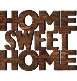 P GRAHAM DUNN Home Sweet Home - Wall Word