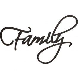 P GRAHAM DUNN Family - Script Word