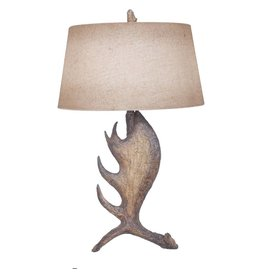 CRESTVIEW Moose Shed Table Lamp DS