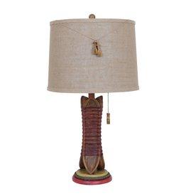 CRESTVIEW Canoe Table Lamp DS