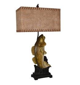 CRESTVIEW Walleye Table Lamp DS