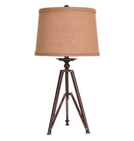 CRESTVIEW Tripod Table Lamp DS