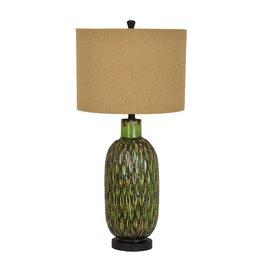 CRESTVIEW Bald Win Table Lamp