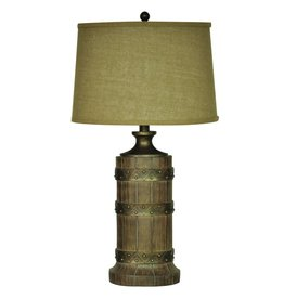 CRESTVIEW Plankroad Table Lamp DS