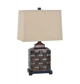 CRESTVIEW Weave Table Lamp DS