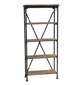 CRESTVIEW Industria Bookcase DS