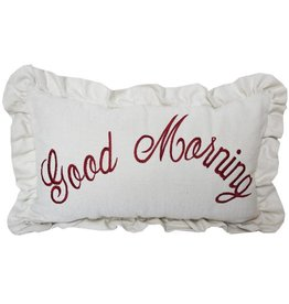 HIEND Good Morning Pillow