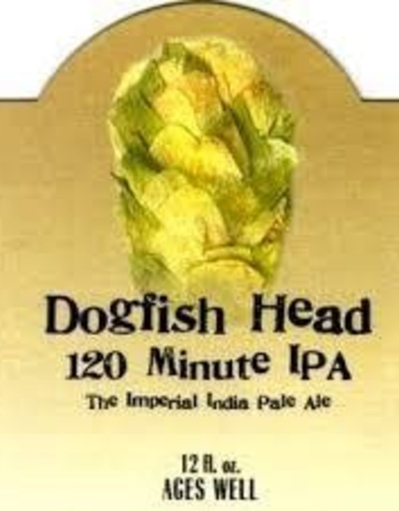 Dogfish Head 120 min IPA single 12 oz bottle
