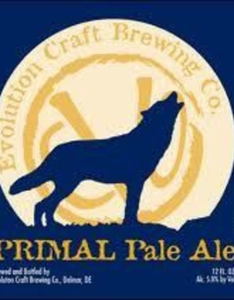 Evolution Primal Pale Ale 6 pk