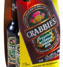 Crabbie's Ginger Beer four 330ml bottles