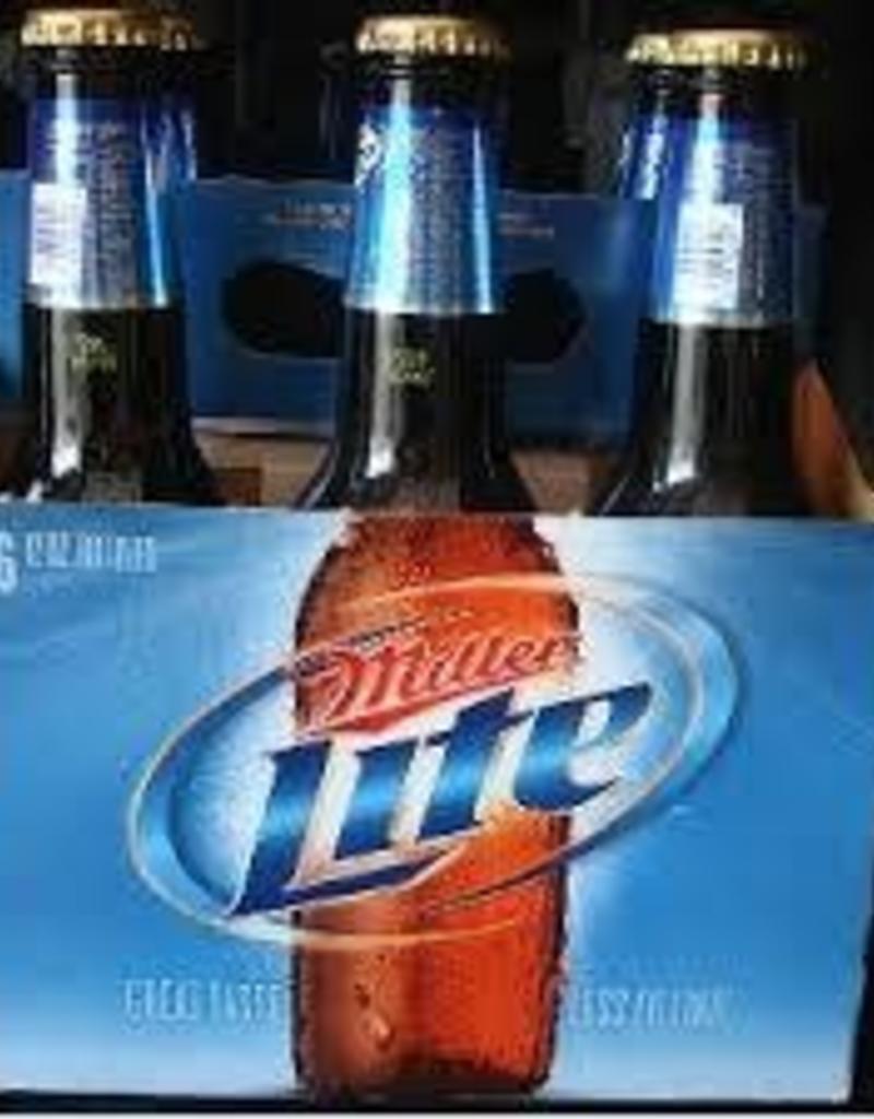 Miller Lite 6 pk. bottles