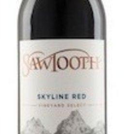 Sawtooth Skyline Red
