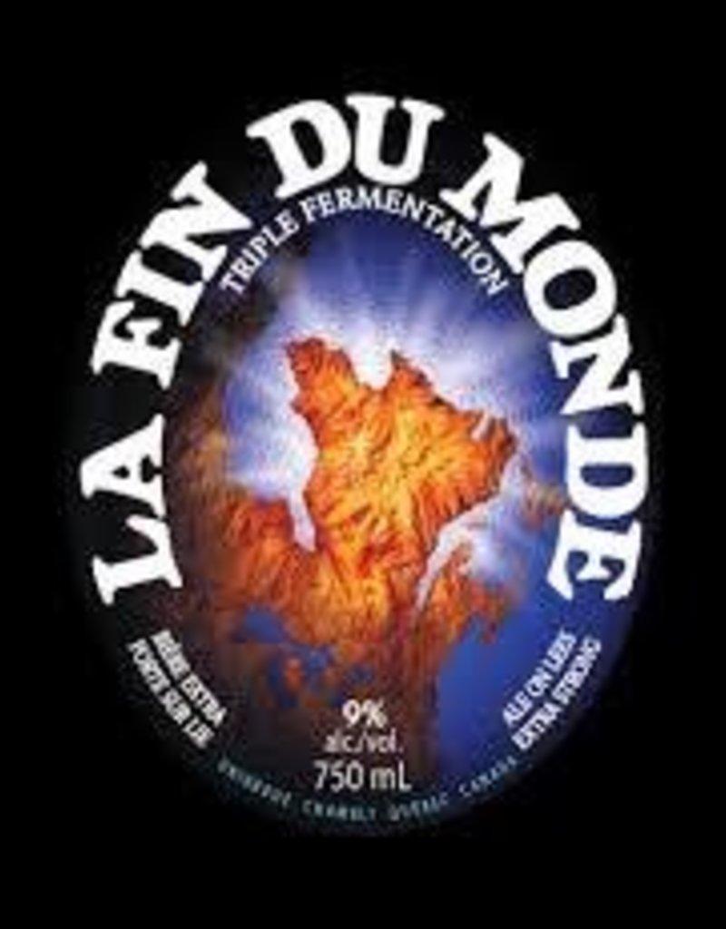 La Fin du Monde 750ML bottle