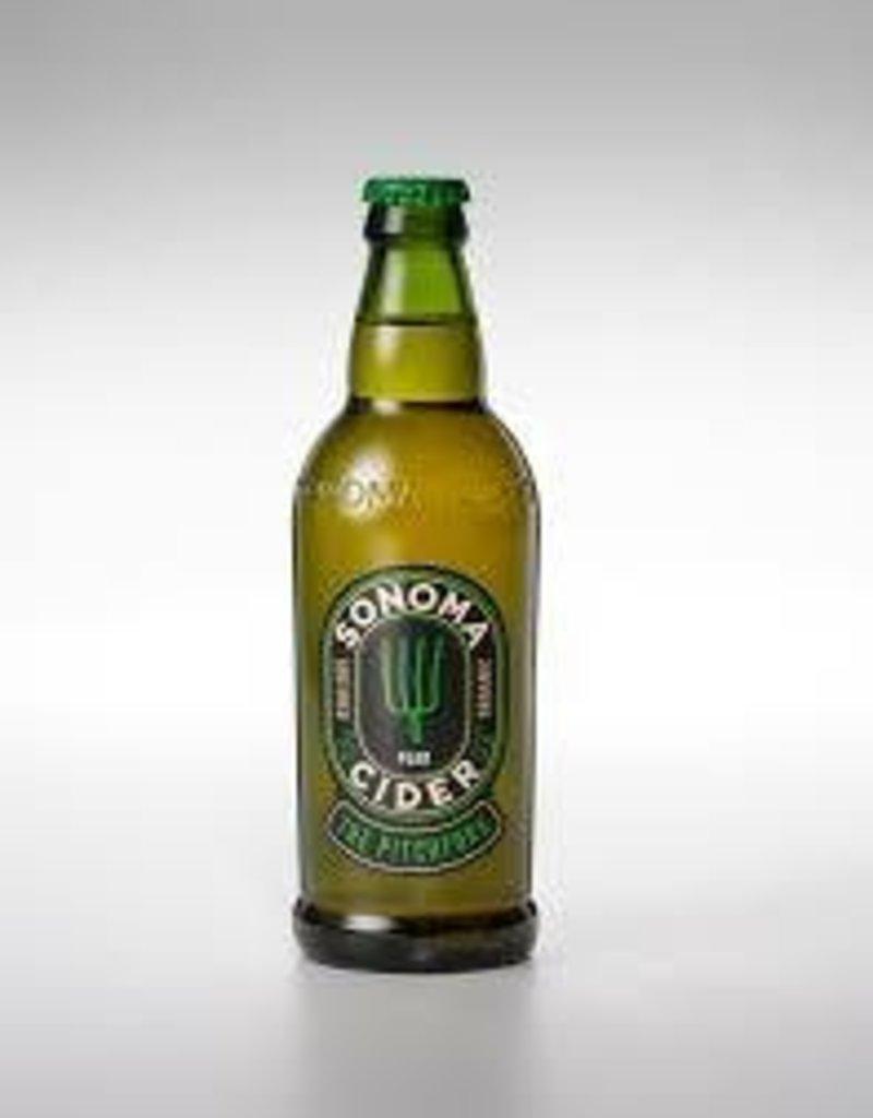 "Sonoma ""Pitchfork"" Pear Cider 22oz."