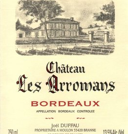 Ch Les Arromans Bordeaux Cuvee Prestige 750ml