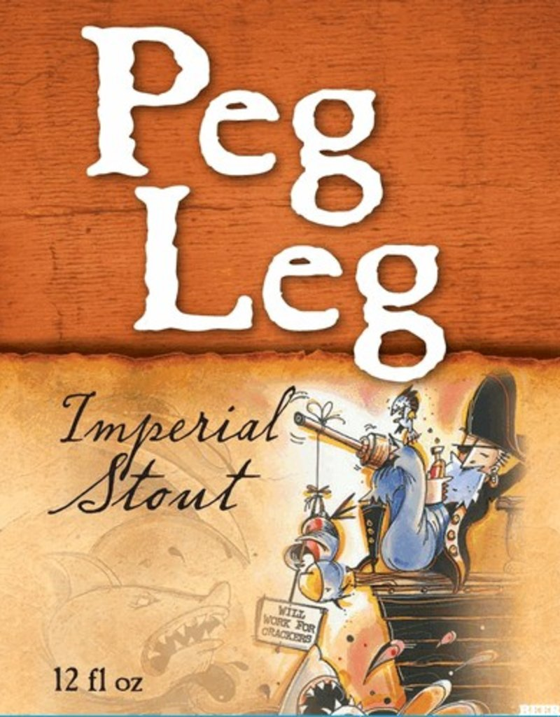 Heavy Seas Peg Leg  Imp. Stout 6pk