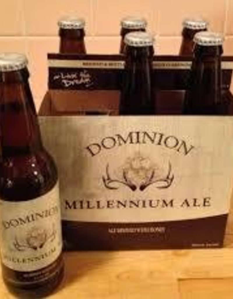 Dominion Millenium six 12 oz bottles