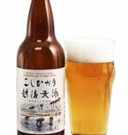 Koshihikari Echigo Beer 17oz. btl.