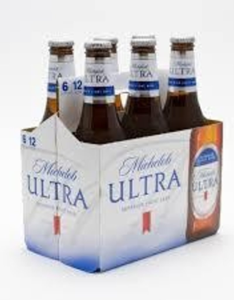 Michelob Ultra 6pk bottles