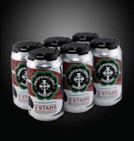 3 Stars Peppercorn Saison 6 pk cans