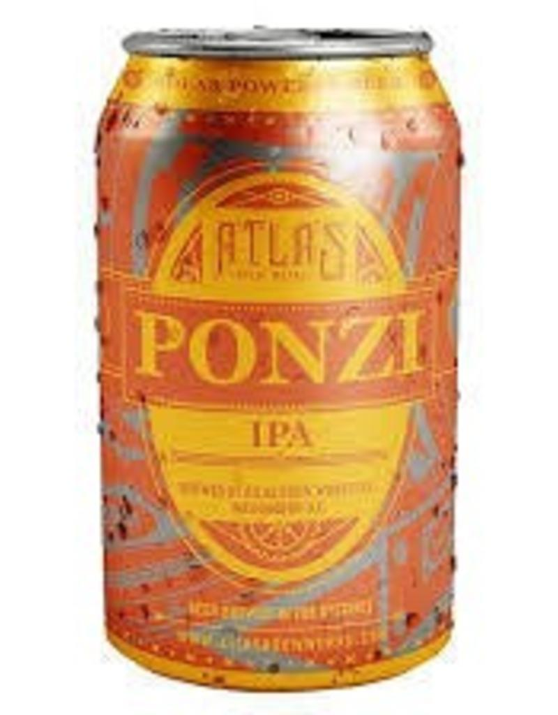 Atlas Brew Works Ponzi 6pk cans