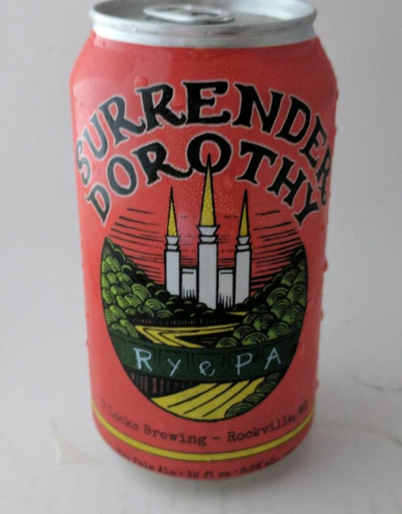 "7 Locks Brewing ""Surrender Dorothy"" Rye PA 6pk cans"