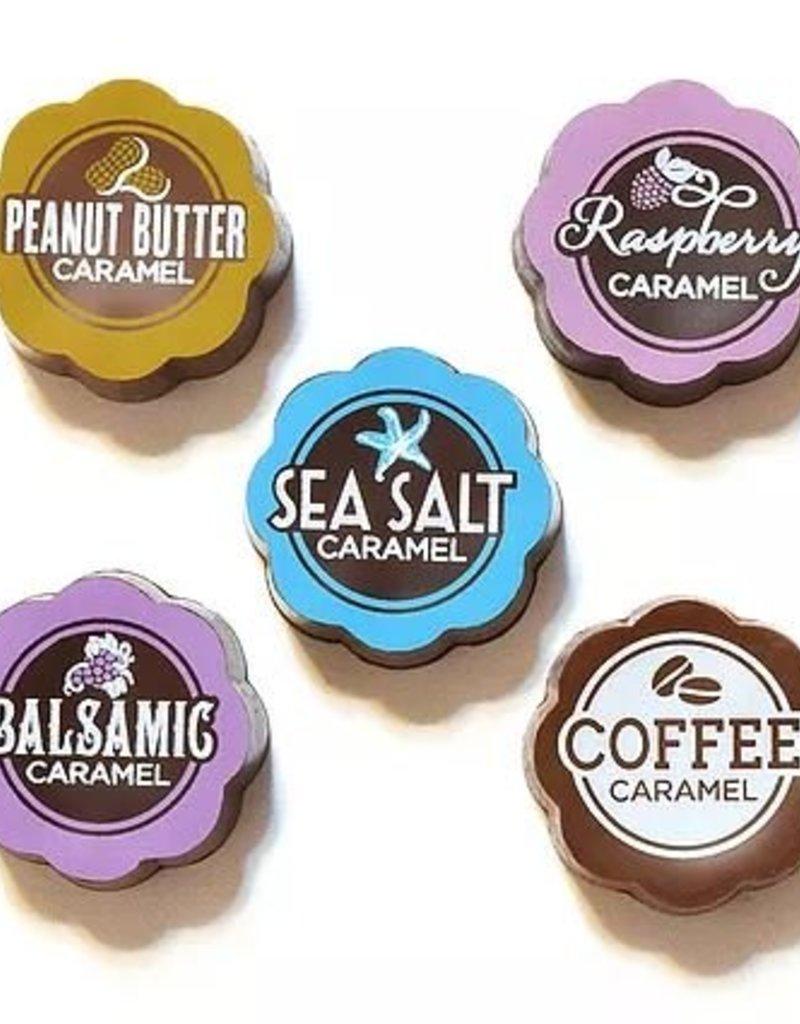 Chouquette Vanilla Sea Salt Dark and Milk Choc