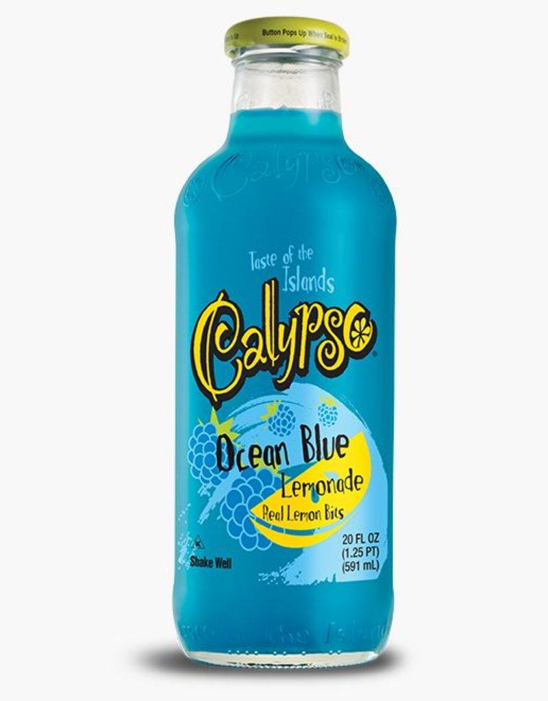 Calypso Ocean Blue Lemonade 20 oz. bottle