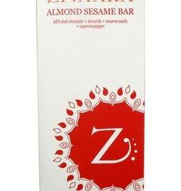 Zivaara Almond Sesame Bar 3.4oz