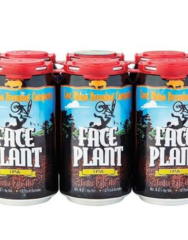 Lost Rhino Face Plant IPA 6pk cans