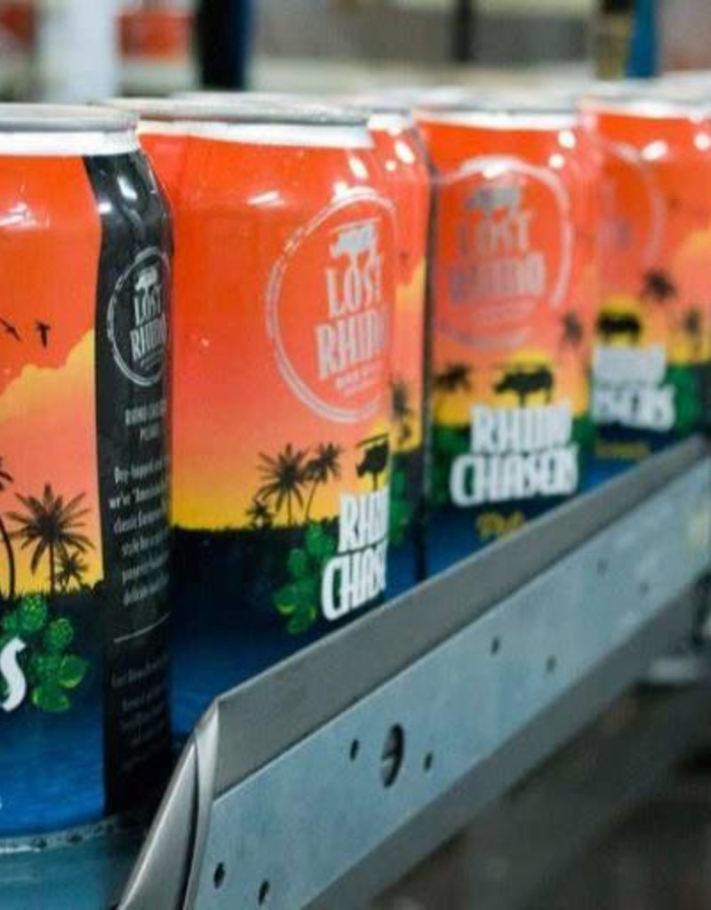 Lost Rhino Rhino Chasers Pilsner 6pk cans