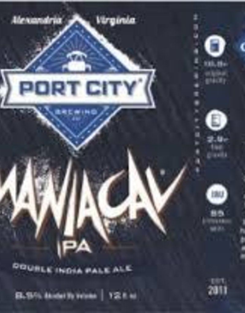 Port City Maniacal IPA 4pk. btls
