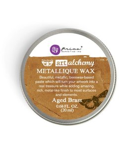 Art Alchemy Metallique Wax Aged Brass