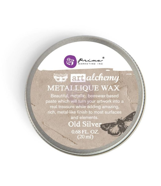 Art Alchemy Metallique Wax Old Silver