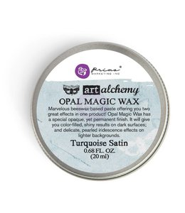 Art Alchemy Opal Magic Wax Turquoise Satin