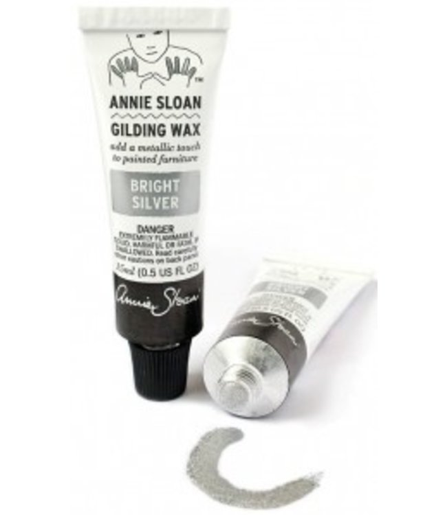 Annie Sloan Unfolded Bright Silver Gilding Wax