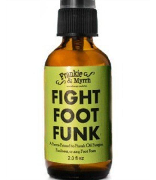 Frankie & Myrrh Fight Foot Funk